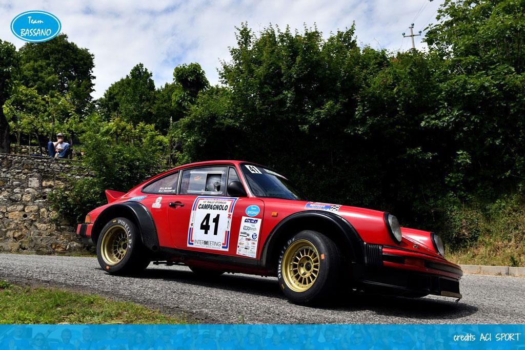 Storica doppietta al Rally Campagnolo
